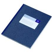 Registre in-quarto large Atlanta ligné 300 pages bleu