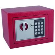 Coffre-fort Pavo Mini 230x170x170mm électronique rouge