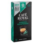 Capsules de café Café Royal Lungo Decaffeinato - Boîte de 10