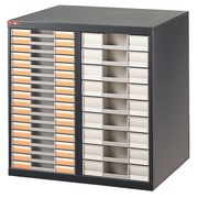 Pack 2 columns + 27 drawers Clen