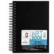 Canson carnet de dessin 'Art Book Mix Media', 40 feuilles, 224 g/m², ft 17,8 x 25,4 cm