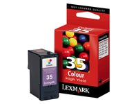 Cartridge Lexmark 35XL Farbig