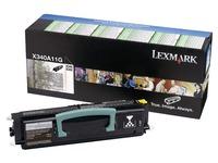 Toner Lexmark X0340A11G zwart