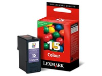 Cartridge Lexmark 15 kleur