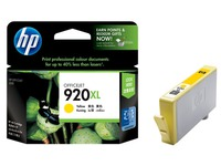 Cartridge HP 920XL geel