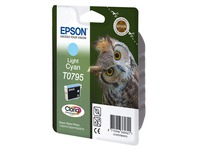 Cartridge Epson T0795 Helles Zyan