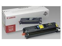Tonerkartusche Canon 701 Gelb