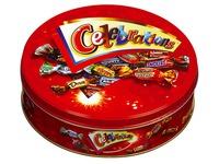 Chocolats assortiment Célébrations - Boîte métal 450 g