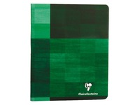 Notebook Clairefontaine 96 pg 17 x 22 cm checked 5 x 5 assorted colors