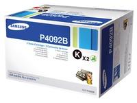 Pack von 2 Tonerkartuschen Samsung P4092B Schwarz