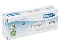 Box von 5000 Heftklammern Rapid SP19/6 galvanisiert