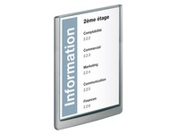 Signalization sign 32,8 23,3 cm Durable