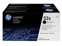 HP 53XD Pack toner pour imprimante laser