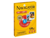 Navigator A4 white paper 120 g ream of 250 sheets