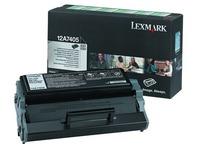 Toner Lexmark 12A7405 zwart