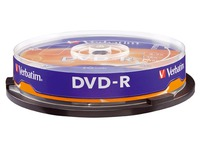 Spindle 10 DVD-R Verbatim 16x