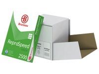 Papier recyclé A4 blanc 80 g Bruneau Reprospeed Green - Boîte de 2500 feuilles