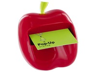 Distributeur Pomme rouge Z-notes Post-it + 1 bloc
