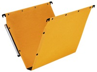 Suspension files Ultimate by L'Oblique in coloured kraft for cabinets 33 cm bottom 30 mm