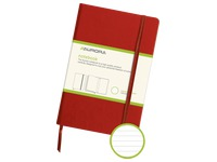 Notebook 140 x 215 mm lined 192 pages red