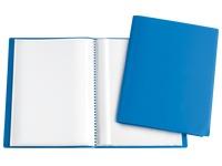 Schutzabdeckungen für Dokumente 60 Hüllen - Blau