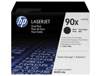 HP 90X, pack toners noirs
