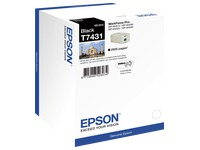 Cartridge Epson T7431 zwart