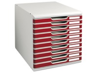 Modulo drawer set, 10 drawers