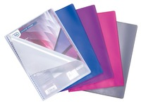 Show album Elba Le Lutin PVC translucent A4 50 sleeves assorted colours