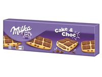 Pack of 175 g Milka biscuits cake and chocolate