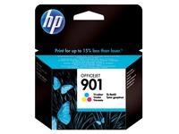 Cartouche HP 901 haute capacité 3 couleurs pour imprimante jet d'encre