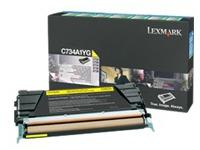 C734A1YG LEXMARK C734 TONER YELLOW