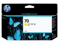 HP 70 - geel - origineel - inktcartridge (C9454A)