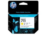 HP 711 - 3 - geel - origineel - inktcartridge (CZ136A)