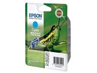 Epson T0332 - cyaan - origineel - inktcartridge