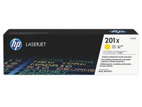 HP 201X toners hoge capaciteit afzonderlijke kleuren voor laserprinter