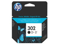Cartridge HP 302 zwart voor inkjetprinter