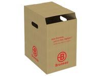 Container karton voor sortering van papier