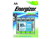 Blister 4 piles Energizer Eco Advanced LR06