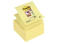 Z-Notes jaunes Post-it 101 x 101 mm - bloc de 90 feuilles jaune