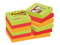 Block 90 coloured Marrakech Super Sticky Post-it notes 46,7 x 46,7 mm