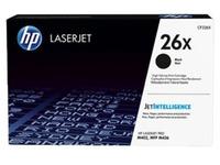 HP 26X cartridge zwart, hoge capaciteit voor laserprinter