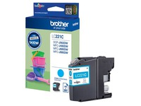 LC221C BROTHER MFCJ880DW INK CYAN