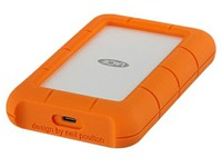 LaCie Rugged USB-C - disque dur - 4 To - USB 3.1 Gen 1 (STFR4000800)