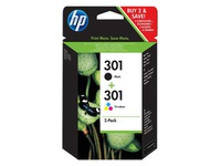E5Y87EE HP DJ1050 TINTE (3) BLACK+COLOR