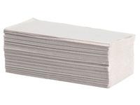 Essuie-mains papier recyclé pliage enchevêtré simple épaisseur - Carton de 4000