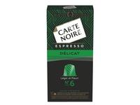 Capsules Carte Noire Délicat n°6 - Boite de 10