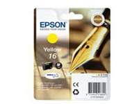 Epson 16 - yellow - original - ink cartridge