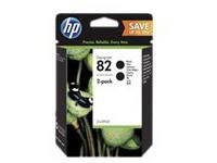 HP 82 - 2 - hoge capaciteit - zwart - origineel - inktcartridge (P2V34A)