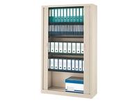Tambour cabinet monoblock Generic H 198 x W 120 cm